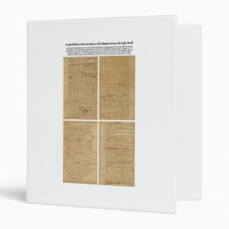 ORIGINAL Rough Draft Declaration of Independence Binder