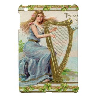 Original Saint patrick's day harp & lady iPad Mini Case