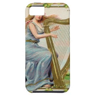 Original Saint patrick's day harp & lady iPhone SE/5/5s Case