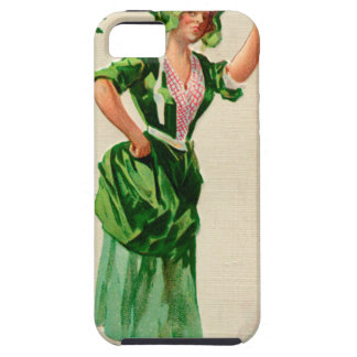 Original Saint patrick's day lady in green iPhone SE/5/5s Case