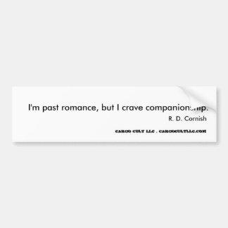 Original saying by author bumper sticker
