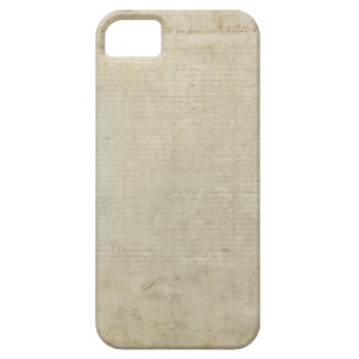 ORIGINAL Scan of the Declaration of Independence iPhone SE/5/5s Case