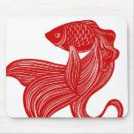 Original Scissors-cut Goldfish Mousepad