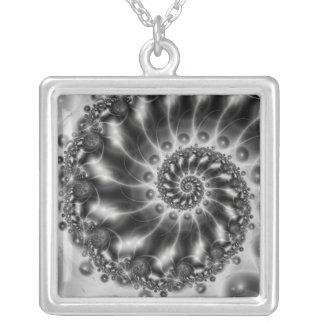 Original Sea / Urhav Square Pendant Necklace
