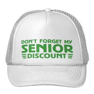 ORIGINAL SENIOR DISCOUNT TRUCKER HAT
