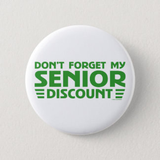 ORIGINAL SENIOR DISCOUNT PINBACK BUTTON