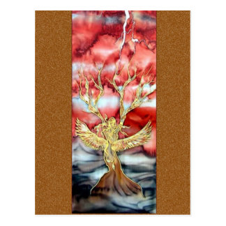 Original Silk Painting By Kim: Post Cards