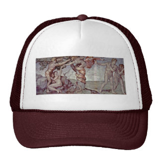 Original Sin And Expulsion From Paradise By Michel Trucker Hats