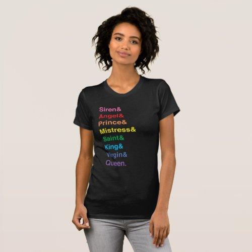 Original Sinners Complete Series T_Shirt