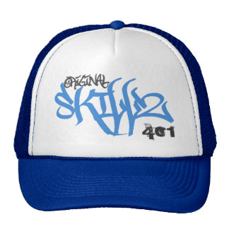 Original Skillz Logo (New Blue Trucker Hat