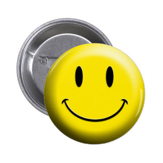 Original Smiley Face Guy! Pinback Button