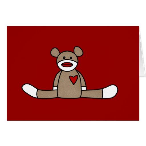 original sock monkey tshirts and gifts card zazzle