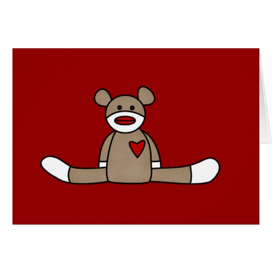 Original Sock Monkey Tshirts and Gifts Card