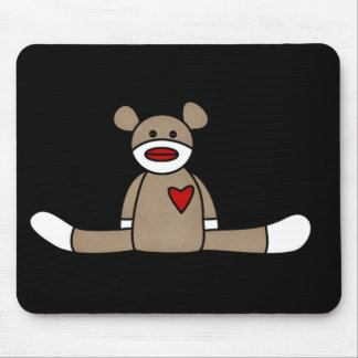 Original Sock Monkey Tshirts and Gifts Mouse Pad