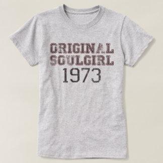Original Soulgirl 1973 Retro Soul Music Fan Tee