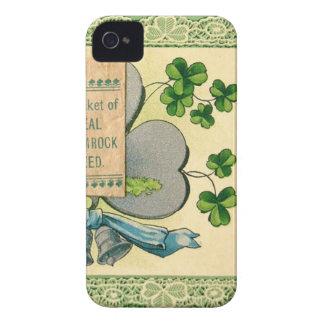 Original St Patrick's day vintage irish draw Case-Mate iPhone 4 Case