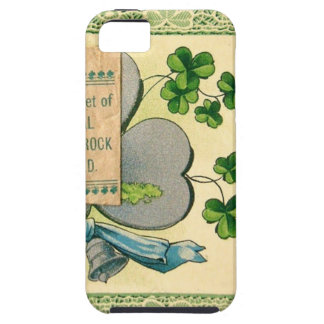 Original St Patrick's day vintage irish draw iPhone SE/5/5s Case