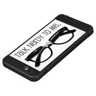 Original Talk Nerdy Design Geek • Nerd • Tech • IT LifeProof NÜÜD iPhone 6s Plus Case