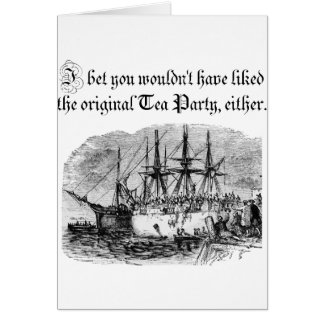 Original Tea Party Card