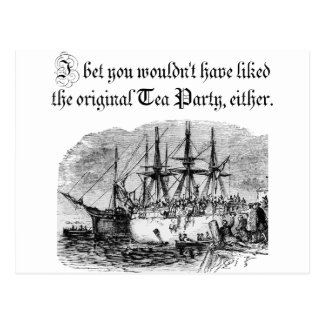 Original Tea Party Postcard