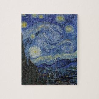 Original the starry night paint jigsaw puzzle