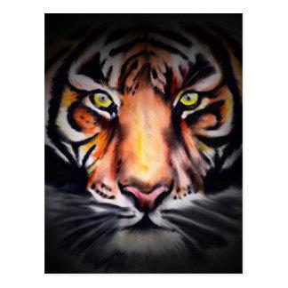 Original Tiger Design Postcard