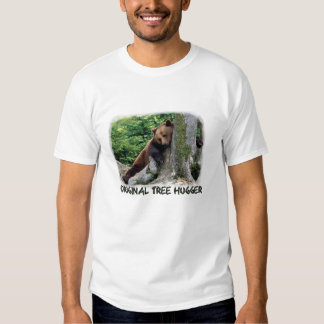 Original Tree Hugger Brown Bear T-Shirt