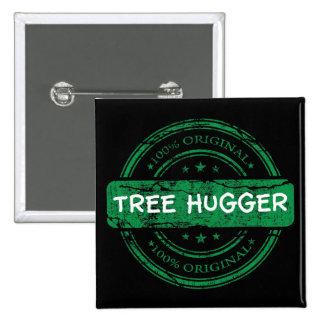 Original Tree Hugger Button