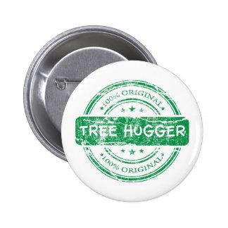 Original Tree Hugger Pinback Button