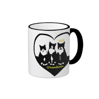 Original TuxedoTrio Heart Ringer Coffee Mug