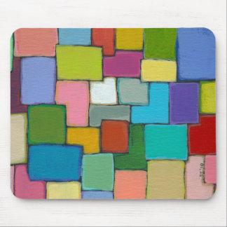 Original única colorida de la diversión moderna de tapetes de ratón