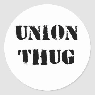 Original Union Thug Stickers