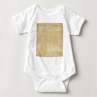 Original United States Constitution Bill of Rights Baby Bodysuit