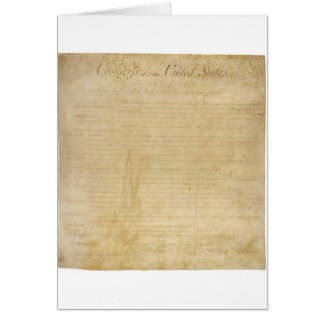 Original United States Constitution Bill of Rights Cards