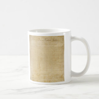 Original United States Constitution Bill of Rights Coffee Mug