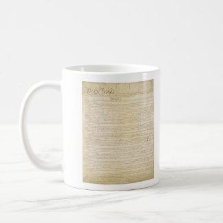 ORIGINAL United States Constitution Page 1 Classic White Coffee Mug