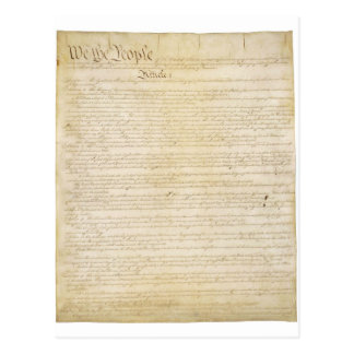 Original United States Constitution Page 1 Post Cards