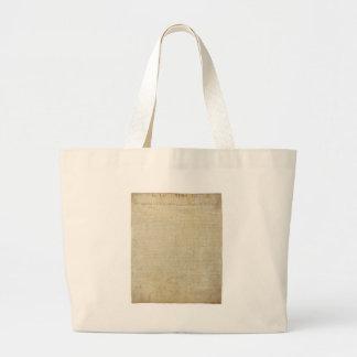 Original United States Declaration of Independence Bag