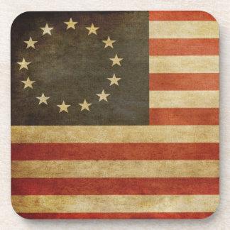 Original United States Flag Drink Coaster
