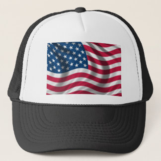 Original USA flag Trucker Hat