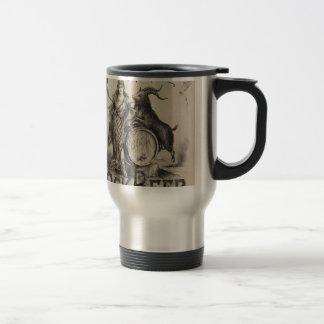 Original vintage Bockbeer poster Travel Mug