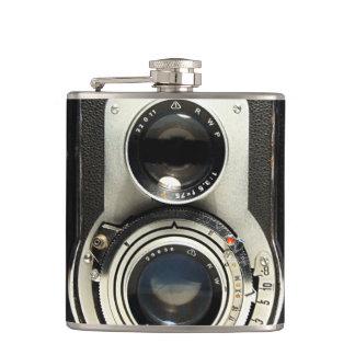 Original vintage camera flasks