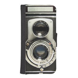 Original vintage camera iPhone SE/5/5s wallet