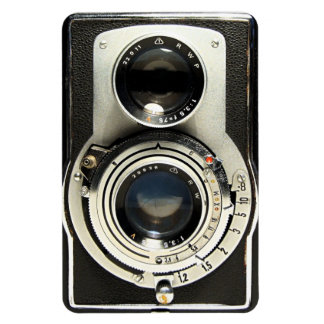 Original vintage camera magnet