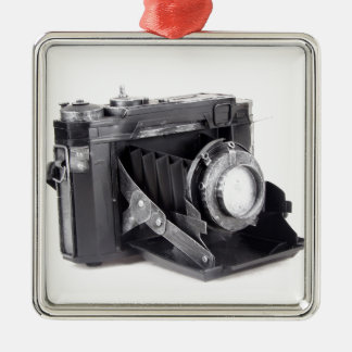 Original vintage camera metal ornament