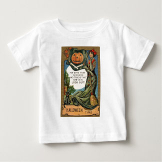 Original vintage Halloween time draw 1900s Baby T-Shirt
