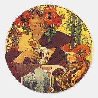 Original vintage poster: Bieres della meuse, Paris Sticker