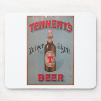 Original vintage poster of Glasgow's famous beer! Mouse Pad