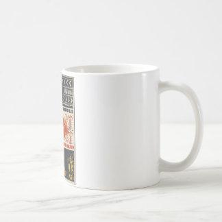 Original vintage poster of USSR Coffee Mug