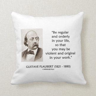 Original violenta de Gustave Flaubert en su trabaj Almohada